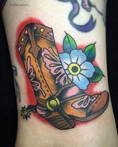 #ウエスタンブーツ #タトゥー #westernboots #tattoo #reikotattoo #studiokeen #japan #nagoyatattoo #tokyotattoo #名古屋 #大須 #矢場町 #東京 #静岡