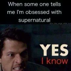 Obsessed with Supernatural