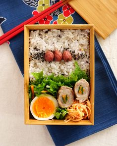Japanese Boxed Lunch, Butaniku-maki Bento, 豚肉巻き弁当