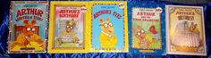 LOT OF 5 ARTHUR BOOKS BY MARC BROWN 4 SOFT & 1 HARDCOVER