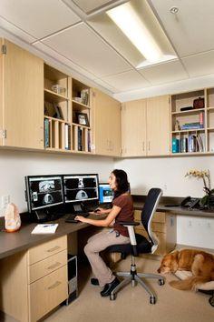 Radiology Workstation Furniture Standing Desk Table