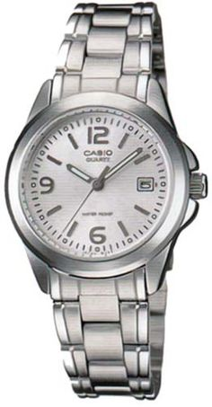 Women's Wrist Watches - Casio Steel Bracelet Womens watch LTP1215A7A * Click image for more details.