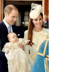 Prince George's Christening