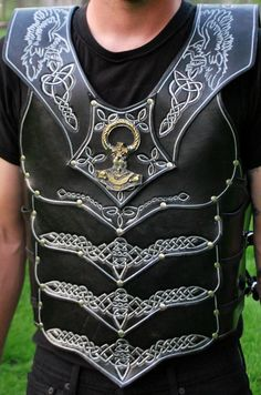 leather armor The Viking by RedWolfLeather on Etsy