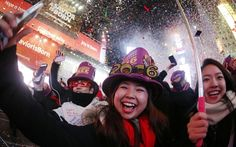 New Year's Eve 2015 celebrations - world celebrates start of 2016 - Telegraph