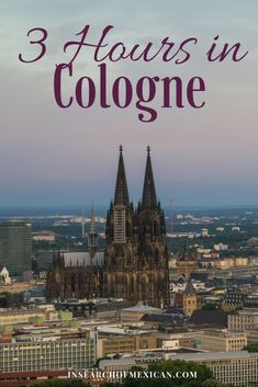 3 Hours in Cologne, Germany - In Search of Mexican  With just 3 hours in Cologne you can see the biggest highlights and taste the local treats.