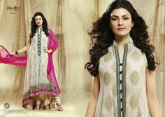 An elegant and stylish Anarkali Suit