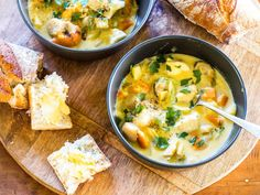 Nici Wickes' seafood chowder recipe is easy to make and doesn't cost the earth, so chow down on some chowder this week. Serve with plenty of crusty bread slathered with butter for a real winter winner