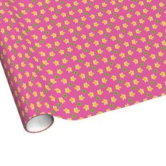 Shop Chic Wrapping Paper Primroses on Deep Pink, Polkas created by poshandpainterly. Primroses, On The High Street, Paper Goods, Wrapping, Create Your Own, Wraps, Stationery, Deep, Chic