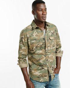 camo military shirt