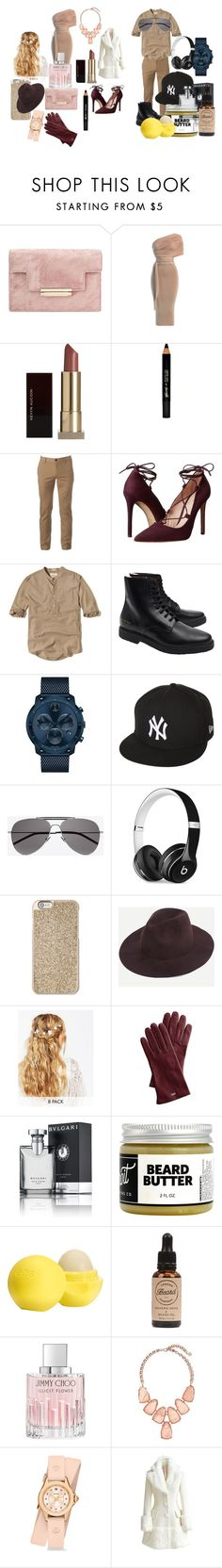 """""""Date 12: Match Made from Heaven <3"""" by anikivance ❤ liked on Polyvore featuring Kevyn Aucoin, Barry M, Urban Pipeline, Massimo Matteo, Hollister Co., Common Projects, Movado, New Era, Yves Saint Laurent and Beats by Dr. Dre"""