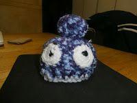Un de plus...Pourquoi pas?: Amigurumi Blue Monster