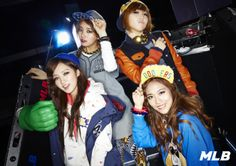 "Miss A members Suzy, Fei, Jia, and Min were selected as models for the 2013 Fall/Winter advertisement campaign for casual fashion brand MLB.    The idols injected a spunky pop appeal into the photo shoot and were photographed in a ""LA Style"" concept with various types of athletic wear and jackets emblazoned with LA and the LA Dodgers' logo."