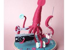 Mr. Pink Squid, A Very Handy Crafter, Single