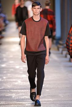 Top Male Catwalkers of MFW SS14: #3 Arthur Gosse at D'Management