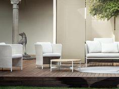 TEATIME Garden armchair by Paola Lenti design Francesco Rota