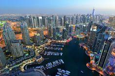 Dubai Marina - Una de las zona más nuevas y animadas de Dubái