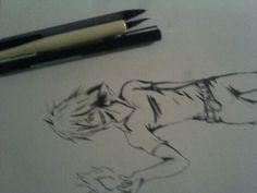 Trad art ink and pencil