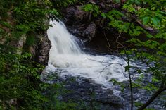 Crystal Falls in Algoma Country near Sault Ste Marie, Ontario