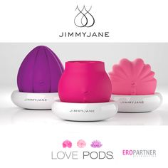 Embrace your inner sensual essence with the Love Pds from Jimmyjane. They can be used to stroke, roll or easily hold in place for magical, immortal orgasms. #vibrator #sextoys #sex #women #pleasure #masturbation  http://wholesale.eropartner.com/assortment.php?search=love+pod