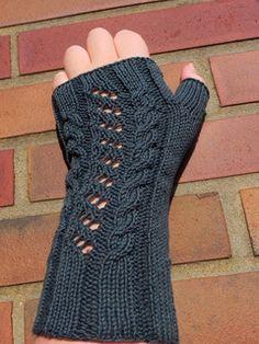 Sonja's Fingerless mittens