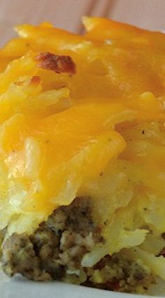 Sausage Potato Breakfast Casserole Just because I'm A vegetarian didn't mean I don't minnow edit is yummy and can't cooky this for others to enjoy!