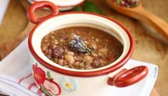 Supa de cereale. Chana Masala, Stew, Soup Recipes, Chili, Beans, Vegetables, Ethnic Recipes, Food, Fine Dining