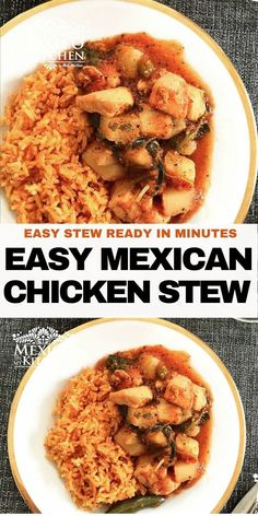 This simple recipe for Chicken Breast with Vegetables is a healthy and easy dinner. This chicken stew takes under 40 minutes, but it tastes like it's been simmering on the stove for hours. Serve with a hearty piece of bread or warm tortillas.