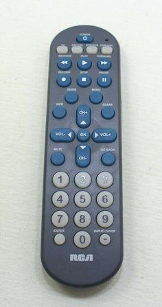 RCA Remote Control Model CRCR4258 #RCA Remote, Store, Model, Ebay, Storage, Scale Model, Models, Shop
