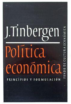 https://flic.kr/p/5yCYZ4 | Politica Economica, J. Tinbergen, CFE, design by Boudewijn Ietswaart