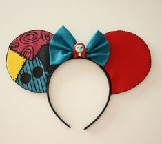 Sally Mouse Ears by Shopmymouse on Etsy
