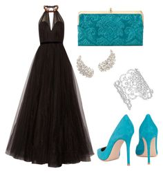 Designer Clothes, Shoes & Bags for Women Fashion Sets, Women's Fashion, Jenny Packham, Diva, Kate Spade, Shoe Bag, Formal Dresses, Clothing, Polyvore