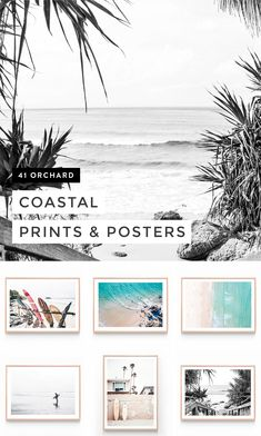 Shop posters & famed prints from the best value wall art studio in Australia. Canvas Wall Art, Wall Art Prints, Poster Prints, Framed Prints, Posters, Coastal Wall Art, Coastal Decor, Beach Wall Art, Hamptons House