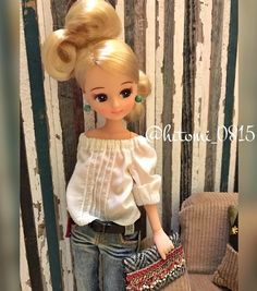 Doll Costume, Costumes, Girl Dress Patterns, Dollhouse Dolls, Cute Dolls, Fashion Dolls, Barbie Dolls, Doll Clothes, Look