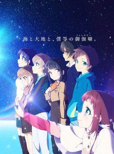Nagi no Asukara - Chisaki,Sayu,Kaname,Miuna,Tsumugu,Hikari & Manaka