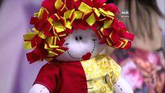Mulher.com - 09/11/2015 - Emília, boneca de pano - Rafaela Bartolino PT2