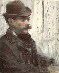Edouard Manet, Portrait of Alphonse Maureau c. 1880, 1878