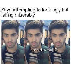 I think Zayn fails at looking anything that isn't gorgeous Zayn Malik Images, Zayn Malik Pics, Zayn Mailk, One Direction Harry, One Direction Humor, One Direction Pictures, Le Clown, Bae, 1d And 5sos