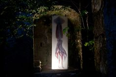 MAURO PANICHELLA - Giant Squid Scantype  #mauropanichella #panichella #art #scannerart #contemporaryart #installationart #scannography #digitalart
