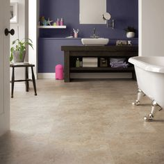 The beige and cream tones of our Karndean LooseLay Indiana stone floor tiles create the perfect backdrop for nearly any decor style. With its innovative friction grip backing, Karndean LooseLay Indiana is ideal for installation over most existing hard floors with little or no need for adhesives, meaning it's faster and easier to fit and repair. - See more at: http://www.karndean.com/en/floors/products/llt202-indiana?fromProdList=true#sthash.fWFBAYzJ.dpuf