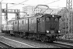 Electric locomotive E 77 10, built in 1925 by Krauss & Comp Munich and Bergmann Berlin for the Deutsche Reichsbahn, with (1'B)(B1') axle configuration. The lcomotive is operational again since only a few days, based in Dresden Altstadt, operated by association IG Bw Dresden Altstadt e.V. and owned by DB Museum.