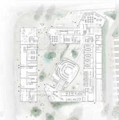 Kết quả hình ảnh cho theatre Uppsala switzerland ground plan
