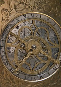 Detail of Masterpiece clock, Germany, 1620