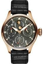 IWC Big Pilot Grey Dial Leather Strap Automatic Mens Watch IW502638 - http://tourbillonwatches.biz/product/iwc-big-pilot-grey-dial-leather-strap-automatic-mens-watch-iw502638