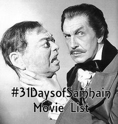 The are witches and wizards, vampires old and black, ancestors, voodoo stuff, a couple of musicals, and some scary stuff too. So here we go, in no particular order my #31daysofsamhain movie list.
