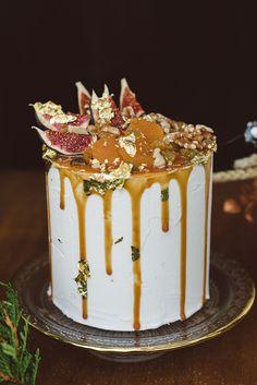 Decadent wedding cake