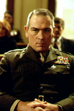 Tommy Lee Jones stars as Colonel Hayes Hodges in Rules of Engagement Bad Boys Actors, Hollywood Men, Classic Hollywood, Bucky And Steve, Guys And Dolls, Actrices Hollywood, Star Wars, Good Looking Men, Best Actor