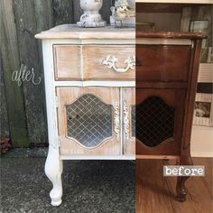 French provincial Whitewash, French Provincial, Nightstand, Florida, Table, Furniture, Home Decor, Decoration Home, Room Decor