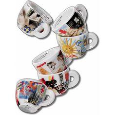 ANCAP Espresso kopjes Bella Italia set van 6 #espressokopjes #espresso # espressocups #Italy