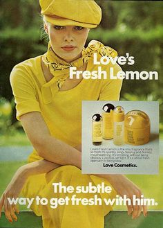 I loved Loves Lemon Fresh 1975